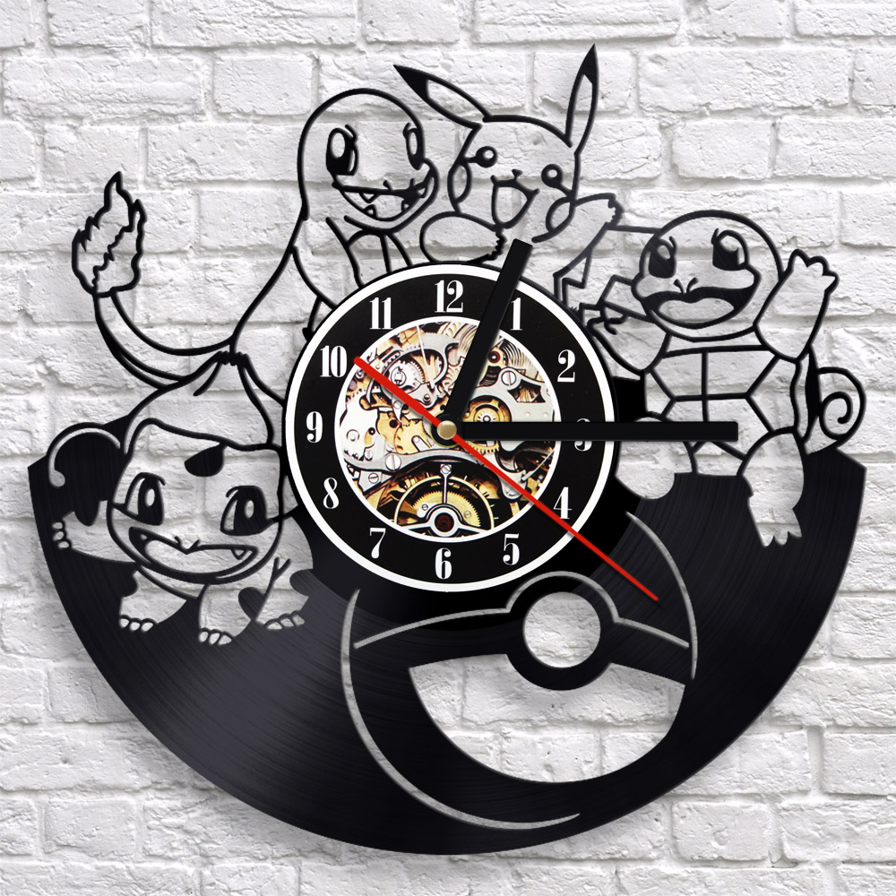 Futuristic wall clock aent popular monster clock buy cheap monster clock lots from china futuristic wall amipublicfo Image collections