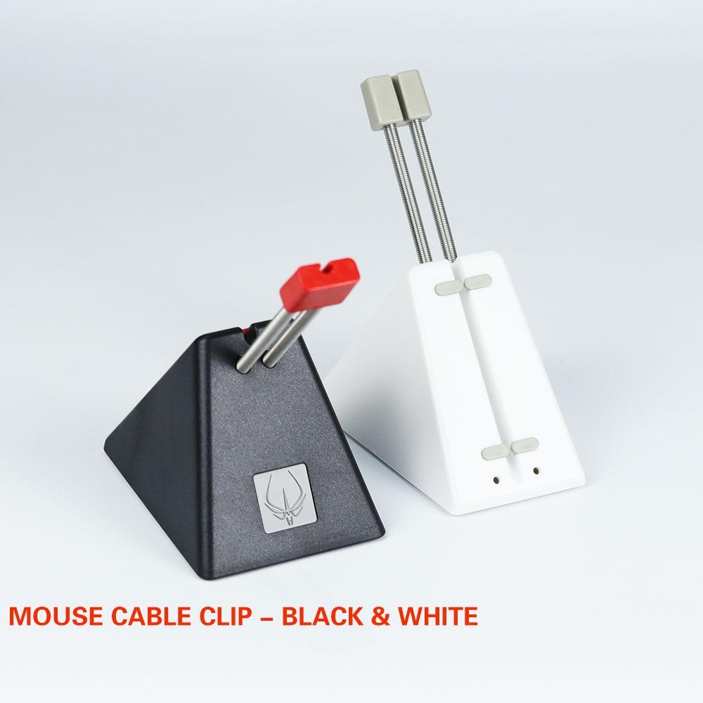 Новый оригинальный держатель кабеля для мыши для игр с горячей линией, зажим для шнура для мыши, держатель для провода, органайзер, идеальный аксессуар для игрМыши   -