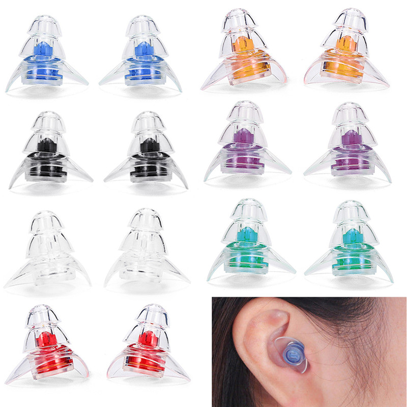 Soft silicone noise cancelling ears plugs for sleeping concert hearsafe earpl CA