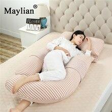 Pregnant Woman Pillow U Shape Cotton Waist Abdominal Support Removable Combine Washable Multifunction Adjustable p54