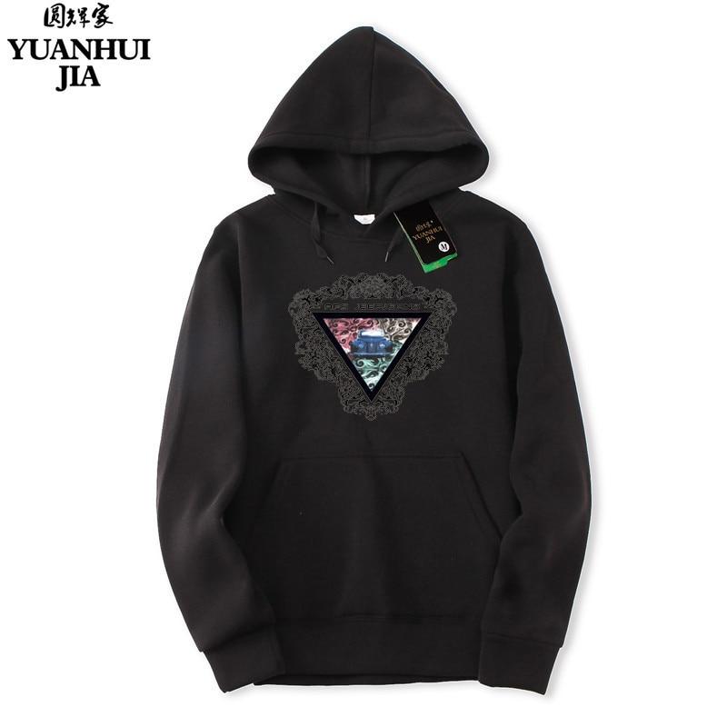 2018 Autumn Male Hoodies Men/ Women Triangle Sweatshirts European Style men women hoodie sweat homme free delivery