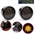 Amber Front LED Turn Signal Light Assembly for 2007~2016 Jeep Wrangler JK Turn Lamp Parking Lights Bulb