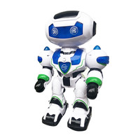 Electronic toys interactive talking toys RC Music & Light Remote Control Robot Intelligent Walking Space Robot Toy D301212