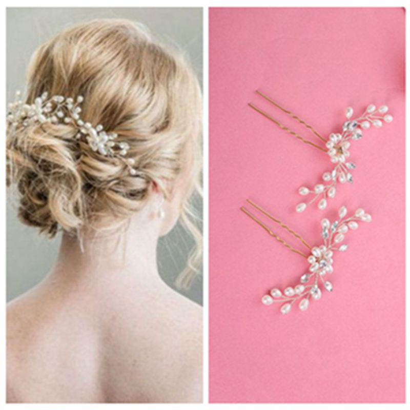 Women White Flower Hair Headdress For Bride Wedding Hair Accessories  Korean Bride Fashion Wedding Headdress GSJ9008