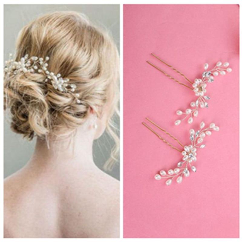 Women White Flower Hair Headdress For Bride Wedding Hair Accessories  Korean Bride Fashion Wedding Headdress GSJ9008