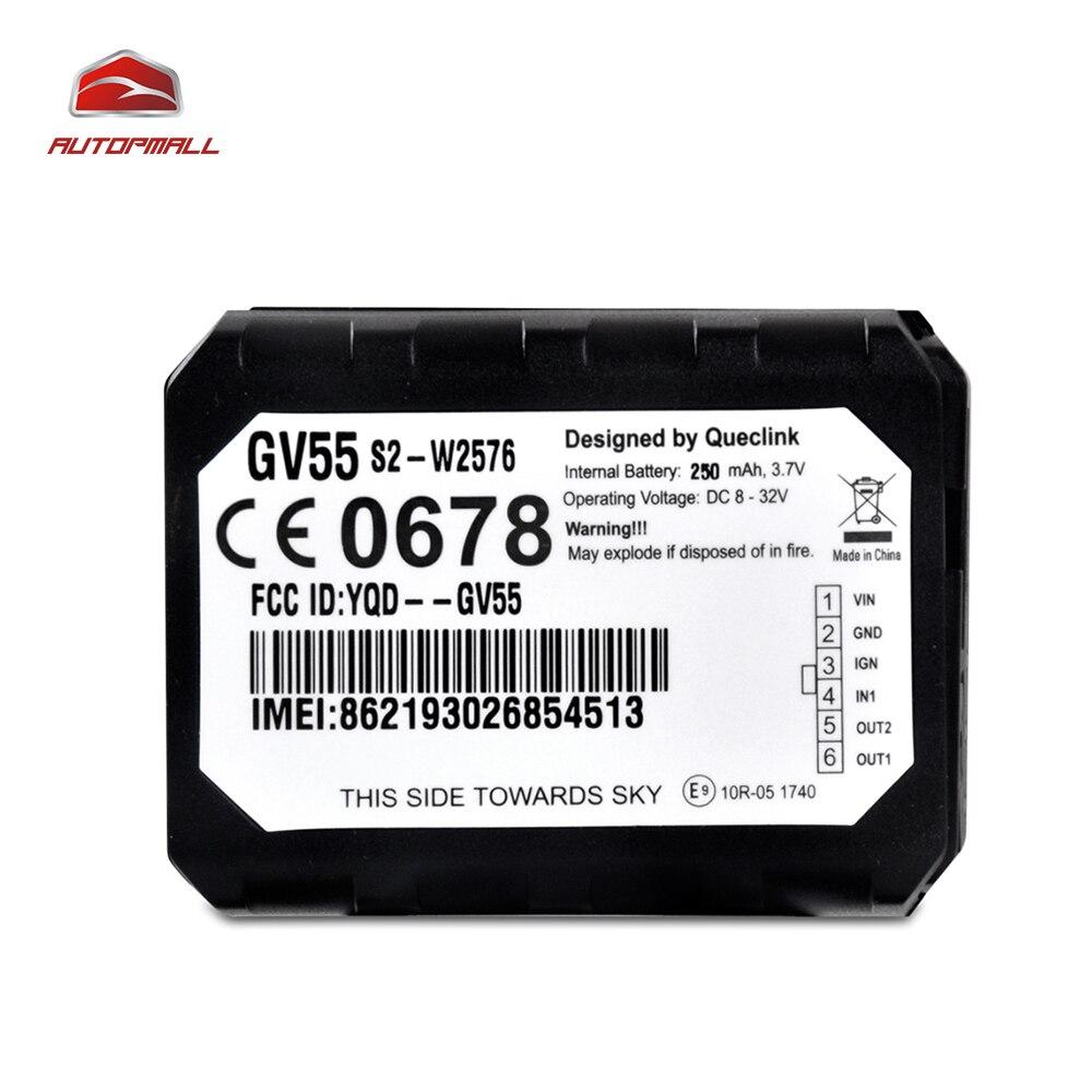 Мини-автомобиль GPS устройства слежения gv55 Авто GPS gsm трекер внутренняя U-Blox Чипсет несколько интерфейсы ввода/вывода