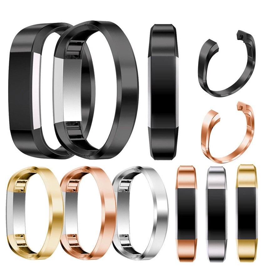 2018 hot trenda Watchbands Stainless Steel Watch Band Wrist strap For Fitbit Alta HR Smart Watch 18cm #1229