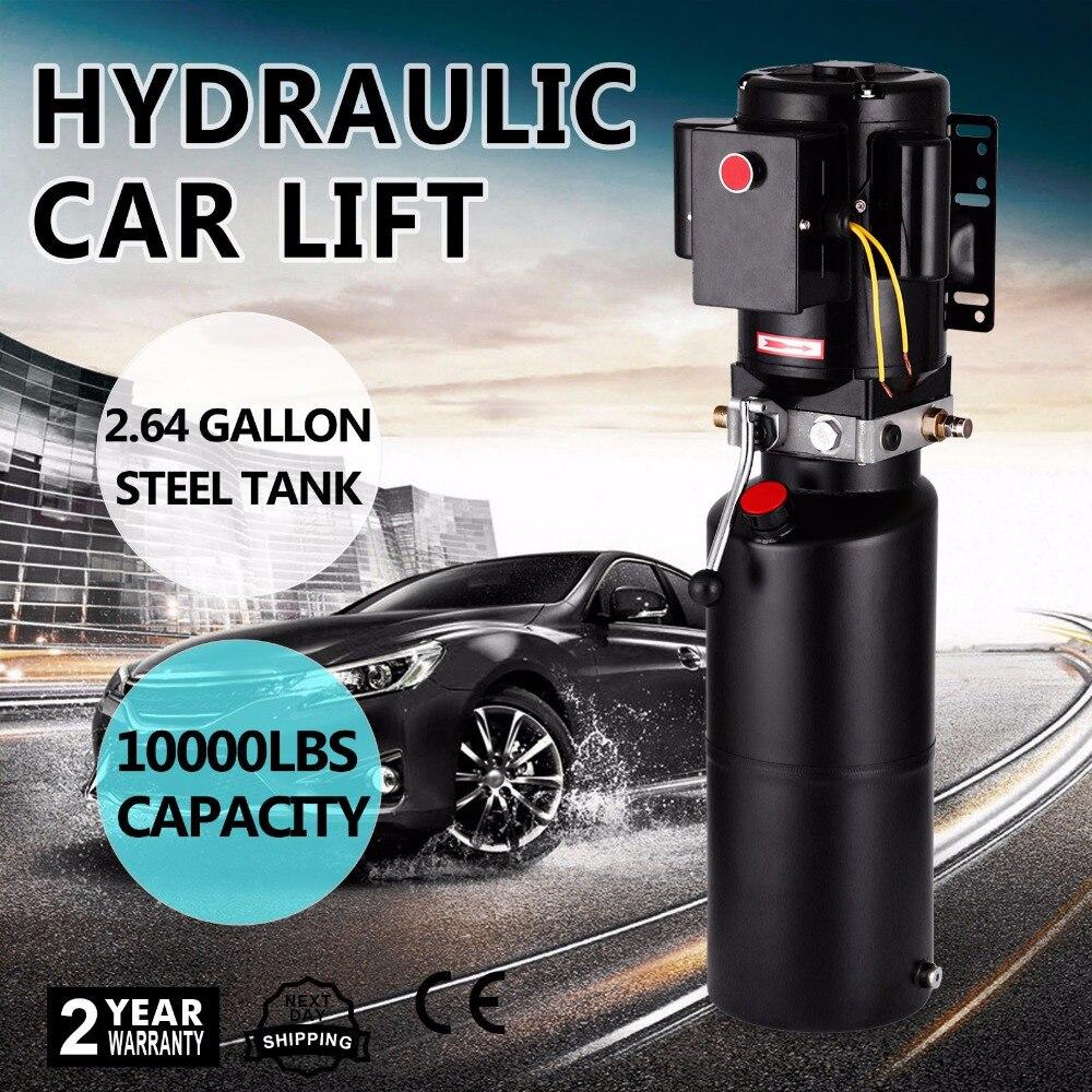 Hydraulic Car Lift Parts : V car lift hydraulic power unit auto