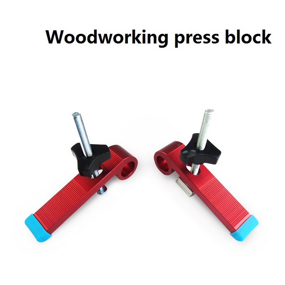 8MM T-Track T-Slot Clamp Tools Metal Quick Acting Hold Down Clamps For Woodworking DIY Carpenter Pressboard Clamp Pressure Block