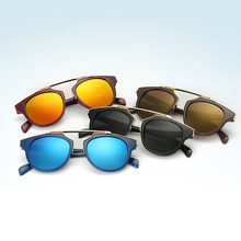 Fashion Kid's Wrap Glasses Summer Casual Anti-uv Protect Eye Glasses Girls Boys