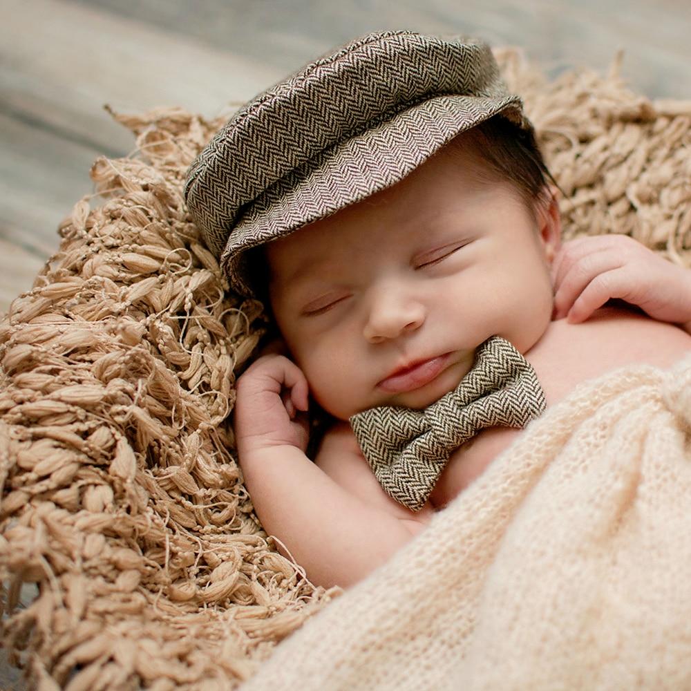 Купить с кэшбэком Handmade Crochet Round Blanket with Fringe Newborn Photography Props for Baby Photo Shoot Background Backdrops Basket Filler