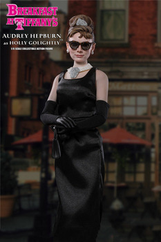 Collectible Full Set Audrey Hepburn Figure Model Toys 1/6 Scale Action Figure Model Toys Normal Version for Collection Gift [show z store] nbk devastator tf engineering full set of 6 yellow version transformation action figure
