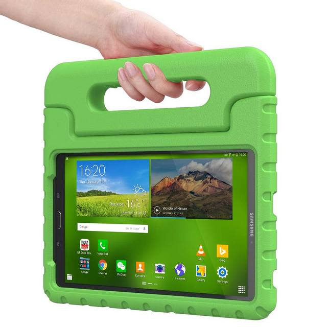 pretty nice 6adcf a38fe US $21.65  Kids Case for Samsung Galaxy Tab E 8.0, Cooper Dynamo Rugged  Heavy Duty Children's Boys Girls Case Cover + Large Handle-in Tablets & ...