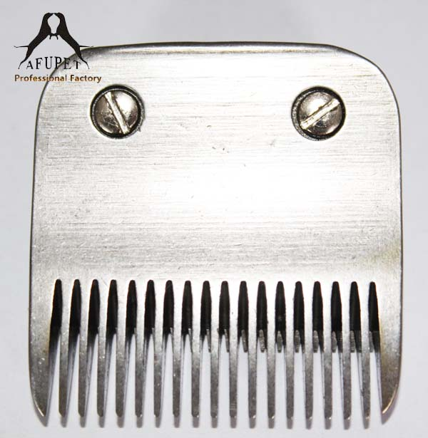 10pcs/lot A5 stainless steel dog grooming blade 6.3 mm dog blade 5F