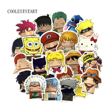 22 Pcs Set Cartoon Pinch Face Series Stickers Grimace Sticker For Laptop Luggage Car Skateboard Waterproof