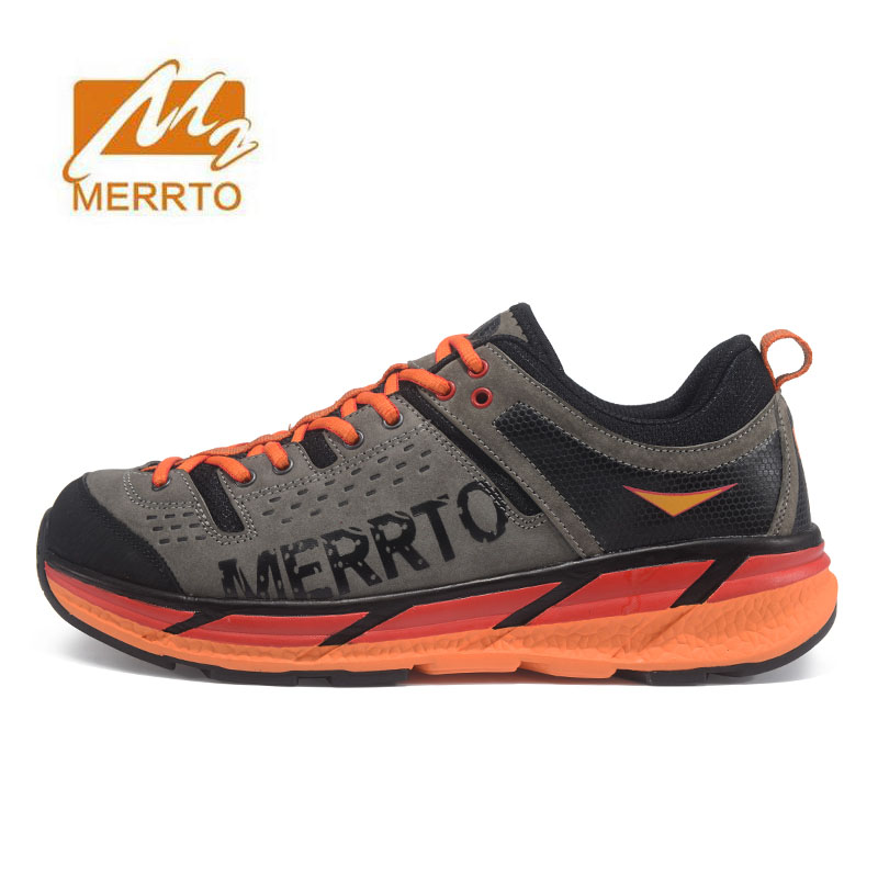 MERRTO Women's Leather Outdoor Hiking Trekking Shoes Sneakers For Women Sports Climbing Mountain Jogging Shoes Woman humtto new hiking shoes men outdoor mountain climbing trekking shoes fur strong grip rubber sole male sneakers plus size