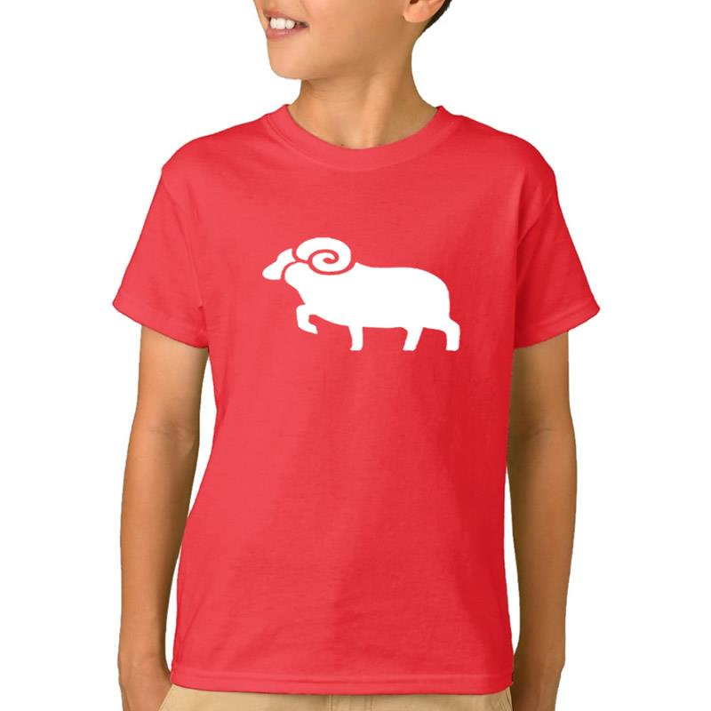 2018 New Fashion COW Print Boys Clothes Girls T-Shirt T-Shirts For Children Kids Clothes Casual Girl 2-10 Years Designs