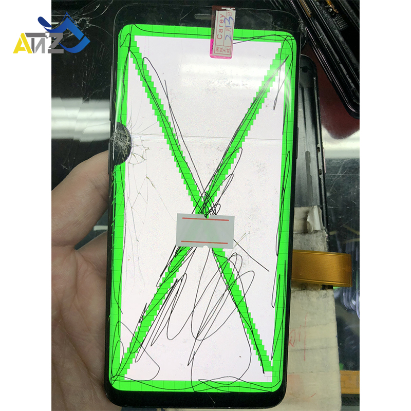 Repair Edge Screen Separete Glass Practice Lcd For Samsung S7Edge/S8 EDGE/S8 Plus/Note8 G935/G955/N950 Broken Glass Dot Screen