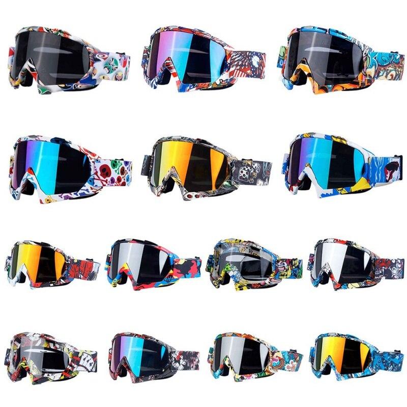 *Pro Bicycle Riding Glasses Ski Goggles Men Women Double Layers Anti-fog Sandproof Winter Skiing Anti-uv MTB Skate Unisex