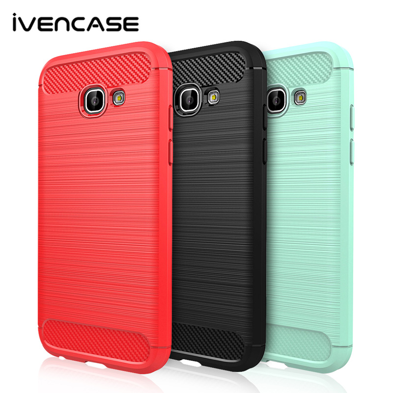 For Samsung Galaxy S6 S7 Edge S8 S8 Plus Grand Prime A5 A3 J3 J5 J7 Carbon Fiber fundas Brushed Soft Slim TPU Gel Cover Case