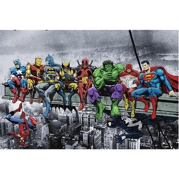 Diy Elmas Boyama çapraz Dikiş Kare 5d Elmas Nakış Deadpool Hulk