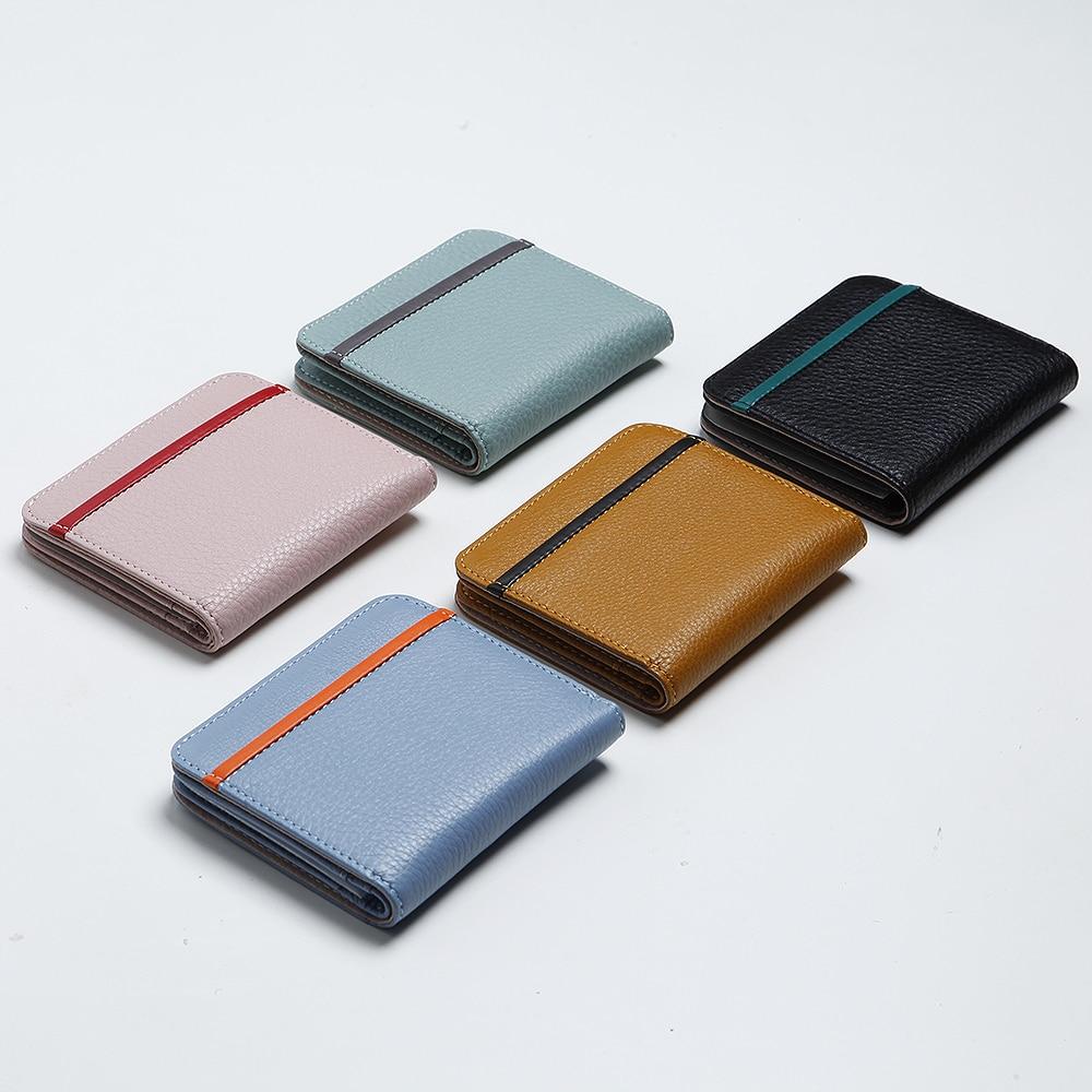 EMMA YAO original läder plånbok kvinnliga kända märkesdesigner - Plånböcker - Foto 4
