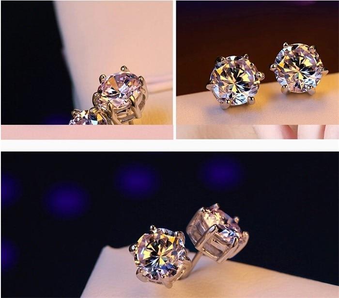 Luxe merk 100% echt 925 sterling zilveren sieradensets Luxe CZ - Mode-sieraden - Foto 4