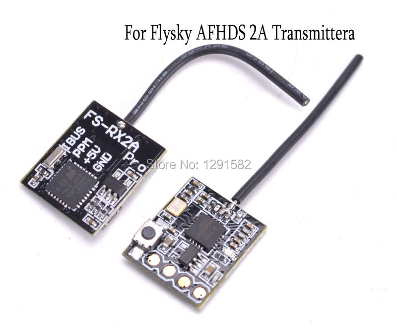 1pcs RX pro 8CH / RX2A Receiver / DSM X PRO Minim Mini Receiver PPM SBUS Output for frsky Flysky QX80 QX95 Mini Drone drone x pro