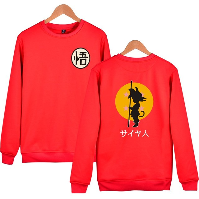 Dragon Ball Son Goku Sudadera (6 Colores)