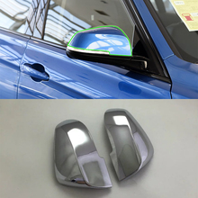 Car Accessories Exterior ABS Chrome Rearview Mirror Decoration Cover For BMW 3 Series 2017 Car Styling