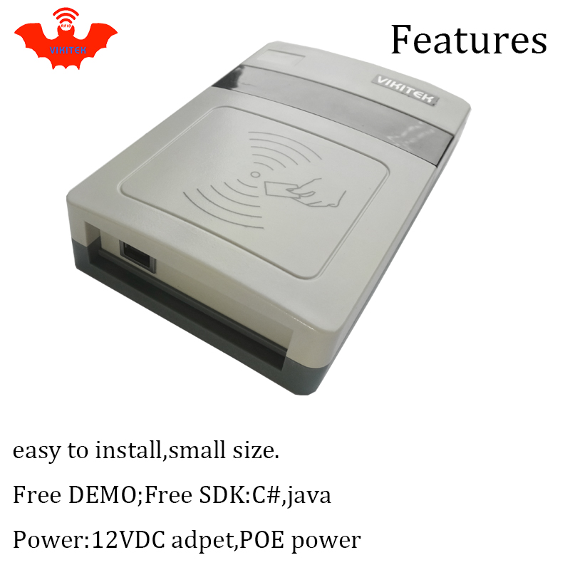 Купить с кэшбэком UHF RFID reader short range Integrated Reader usb port desktop rfid tag encoder writer easy to use usb reader rfid copier writer