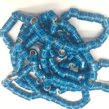 2019 Aluminium&plastic pigeon rings RUS yellow blue green red  bird foot ring Russia