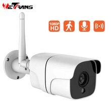 Wetrans камера Wi Fi Открытый hd cctv 1080 p пуля водонепроницаемый двухстороннее аудио сигнал тревоги ipcam беспроводные камеры видеонаблюдения ip 2MP