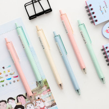4pcs Wheat straw Nature color gel pen 0.5mm ballpoint writing pens Black ink Stationery Office School supplies Canetas A6411
