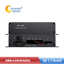 Led Video Screen Sender Box Support Colorlight S2 Sending Card Support the use of laptop control HDMI-DVI signal led video control systerm linsn mc100 standard version led sender box for asyn sync led control system