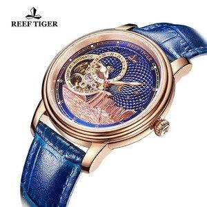 Image 5 - Часы мужские автоматические с сапфировым стеклом и розовым золотом, RGA1739