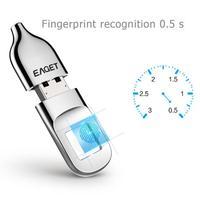 EAGET FU5 FU60 32GB/64GB USB2.0/3.0 Flash Drive Recognition Fingerprint Encrypted Security Memory USB Stick Smart Pen Drive Hot