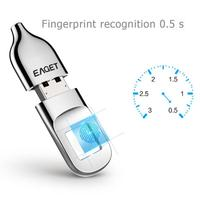 EAGET FU5 FU60 32GB/64GB USB2.0/3.0 Flash Drive Recognition Fingerprint Encrypted Security Memory USB Stick Smart Pen Drive Hot