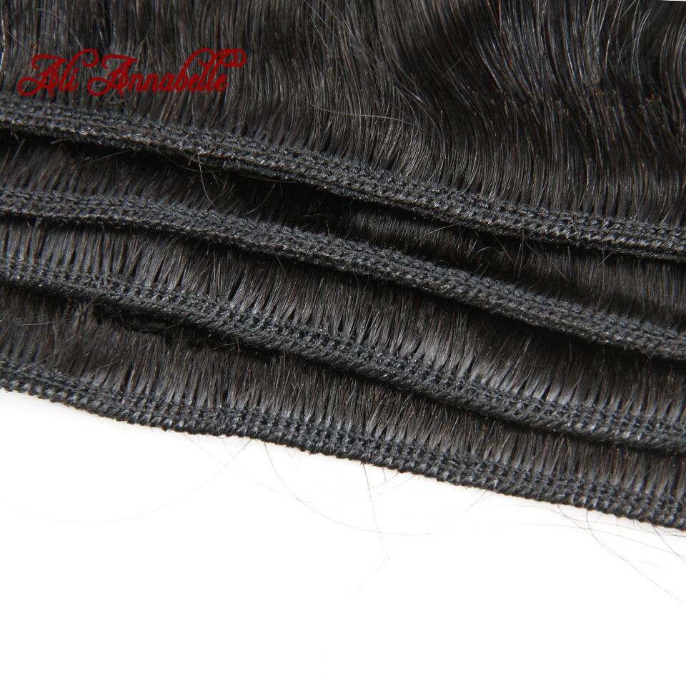 HTB1jkYWaJfvK1RjSspoq6zfNpXaT ALI ANNABELLE HAIR Straight Hair Bundles with Closure 100% Remy Human Hair Bundles with Closure Brazilian Hair Weave Bundles