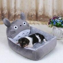 6 цветов милые животные для кота собаки домашнего животного кровати коврики Плюшевые Собаки Диван домик-кроватка для домашних животных большое одеяло подушки корзины поставки мультфильм