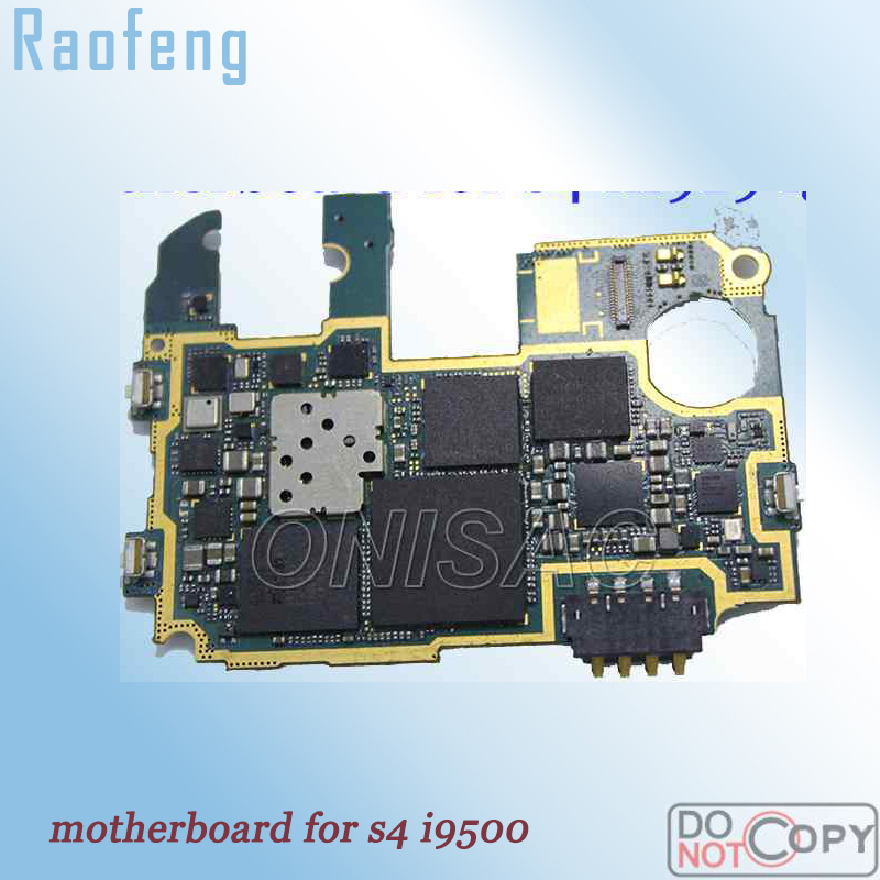 Raofeng For Samsung galaxy S4 i9500 motherboard Unlocked Mainboard with fulll Chips