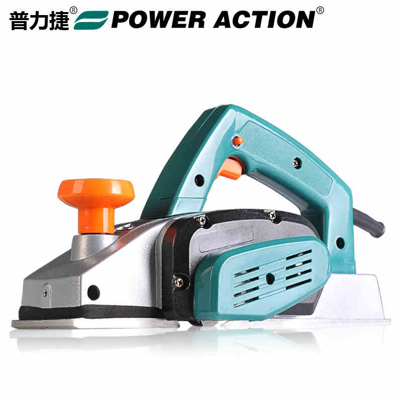 Electric Planer 220v/50hz Woodworking Planer Max cutting width 82mm Depth: 2mm Multifunctional woodworking power tools top 9 215mm adjustable hand planer woodworking cutting edge planer screw spoke shave manual woodworking hand tools