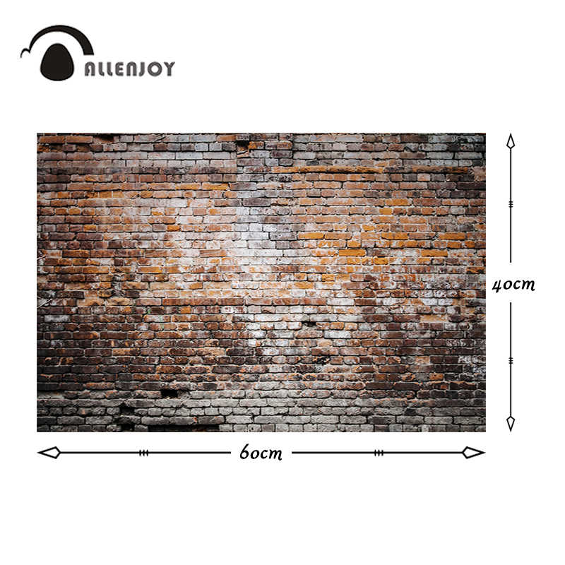Allenjoy professionale fotografia sfondo retro muro di mattoni Neonato battesimo sfondo foto in studio di piccola dimensione photocall