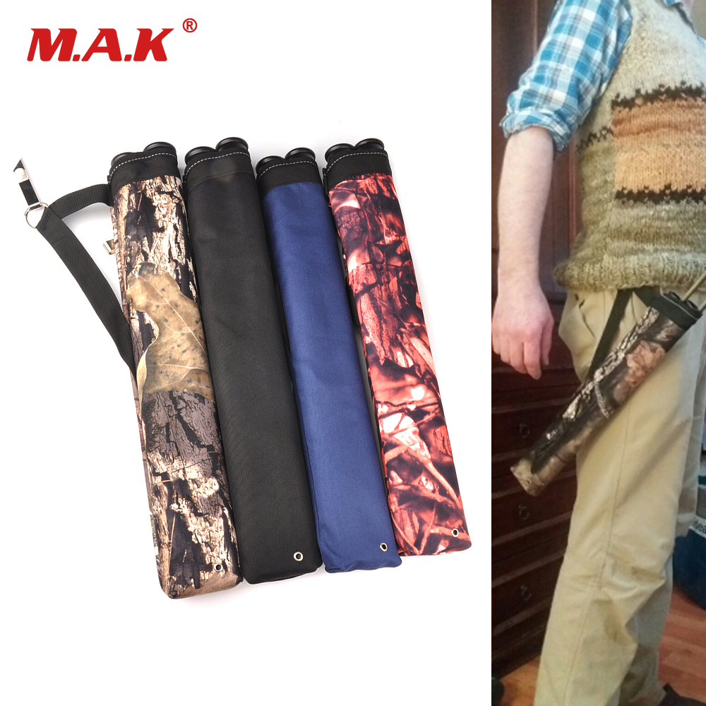 45X8.5 Cm Arrow Bag Oxford Cloth 2 Point Single Shoulder Arrow Quiver For Bow And Arrow Archery Hunting Shooting