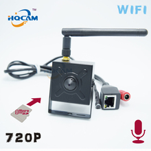 HQCAM TF SD card wireless 720P wifi P2P Mini IP Camera Security Cam wi-fi Indoor CCTV TF SD card camera External microphone