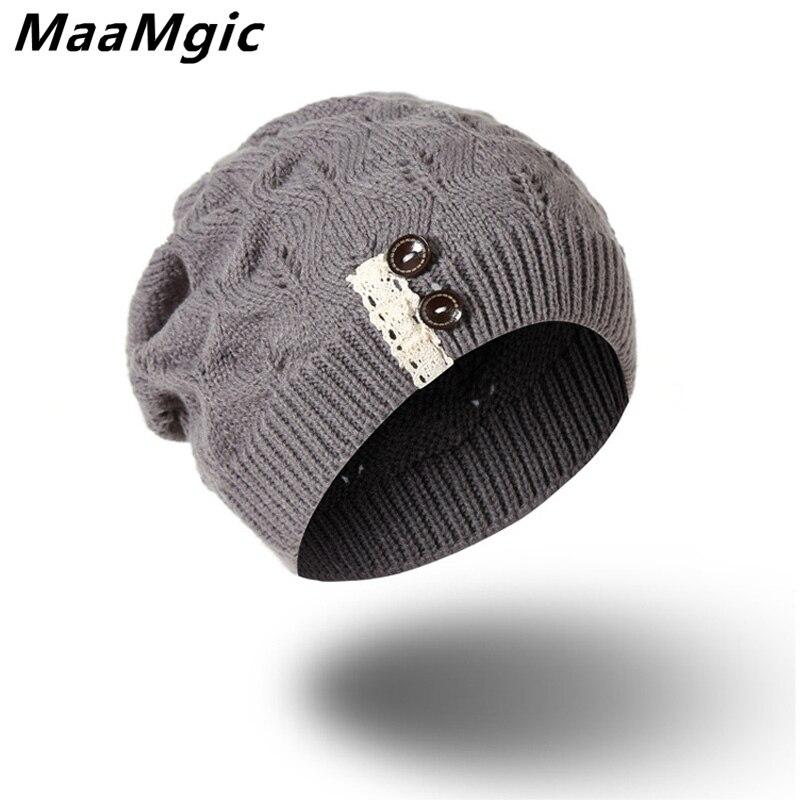 2017 Nuevo de moda Unisex de los hombres de las mujeres de otoño invierno  sombrero de punto de algodón Skuilles gorros máscaras para niños niñas  marca ... 2920fc2e1424
