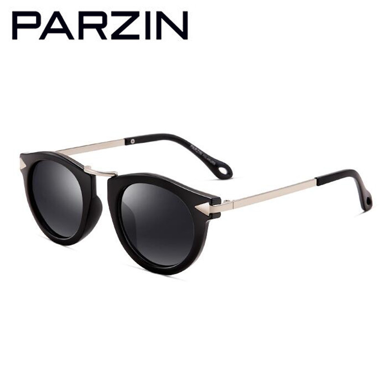 Parzin Enfant Polarisé lunettes de Soleil UV 400 Vintage Enfants Lunettes de Soleil Garçons Filles Lunettes Nuances d2005