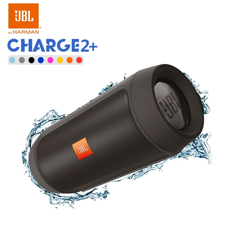 New Original JBL Charge2+ IPX5 WaterProof Mini Portable Bluetooth speaker with power bank pk charge 2 pulse 2 CHR2+ jbl charge 2 orange