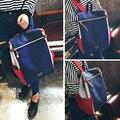 Mujeres Mochila de lona mochila de viaje bolsa de nueva mujer Corea Academia femenina Mano ocasional estudiante bolsa de la escuela