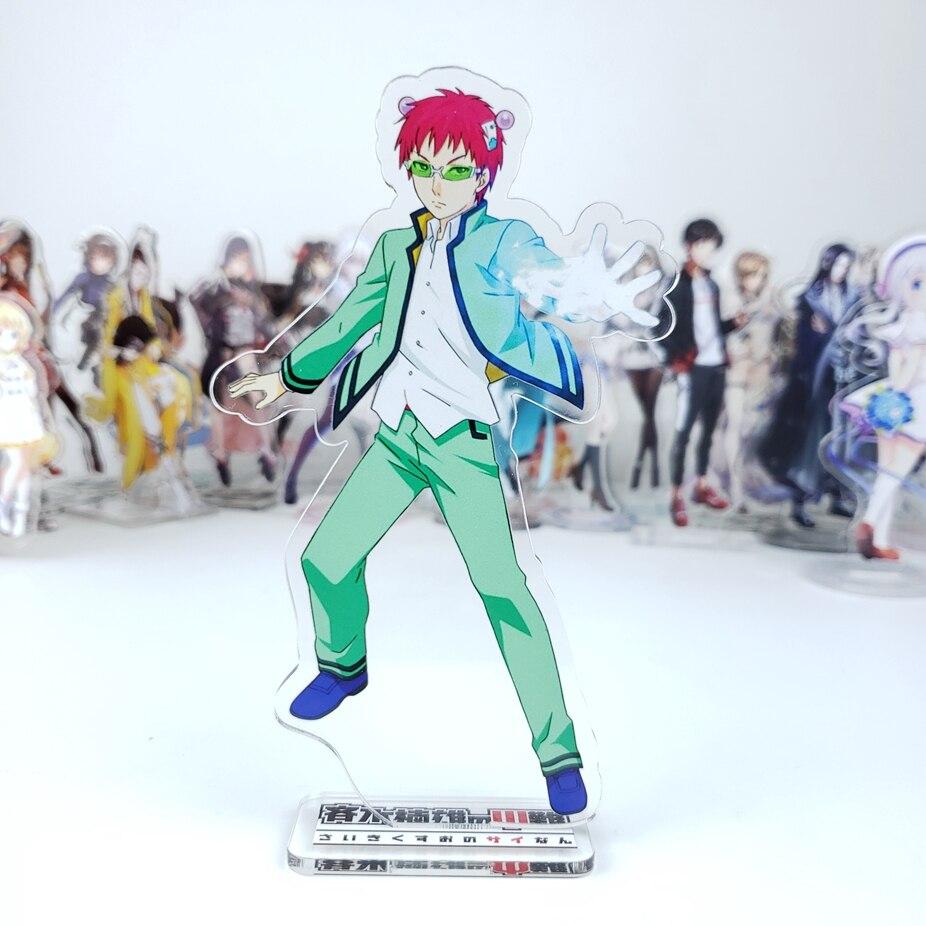 Japanese Anime Saiki Kusuo No Psi Nan Cosplay Acrylic Stand Figure Desk Stand Figure Model Decorate 15cm